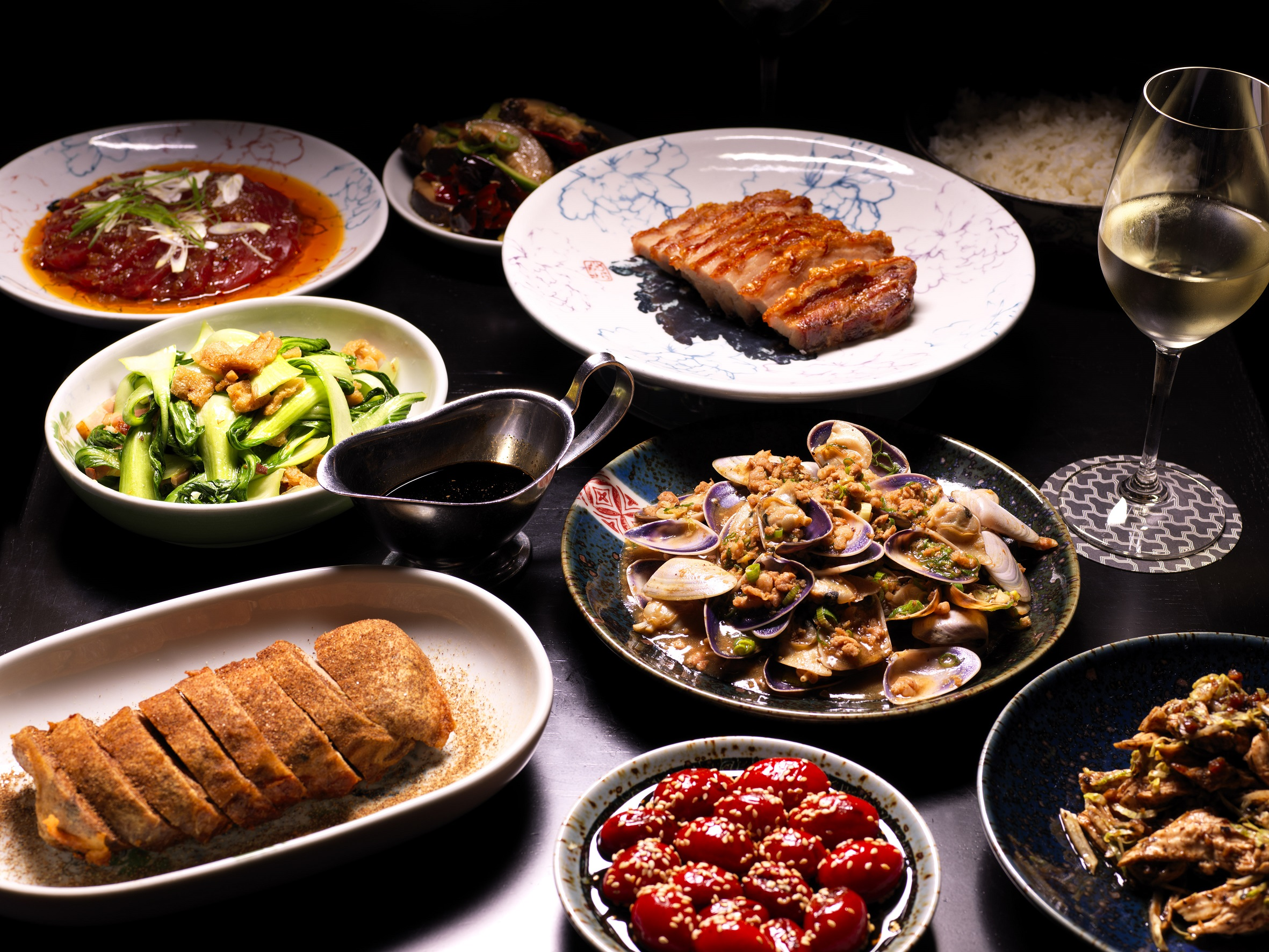 Selection Of Chinese New Year Dishes Rockpool Dining Group