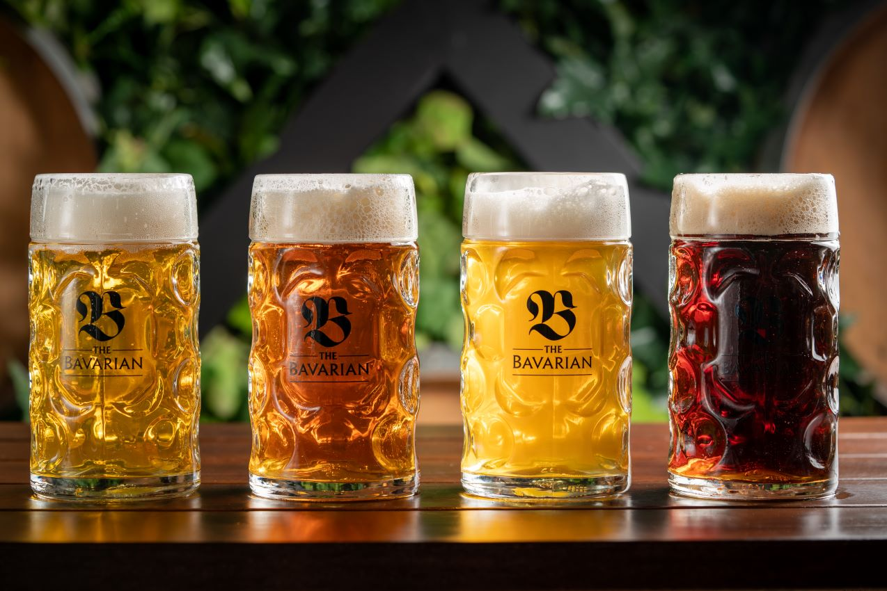 The Bavarian - German beers on tap