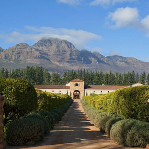 Neil Perry's article in Qantas Spirit of Australia Magazine: Top wineries near Cape Town.