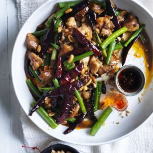 Neil Perry's Good Weekend recipe: Kung pao chicken.