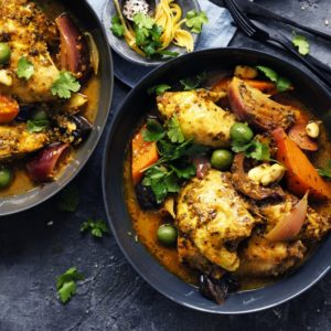 Neil Perry's Good Weekend recipe: Chicken & green olive tagine