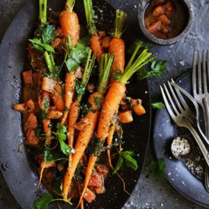 Neil Perry's Good Weekend recipe: Moroccan carrot salad.
