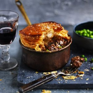 Neil Perry's Good Weekend recipe: Beef chuck & pea pie.