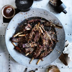 Neil Perry's Good Weekend recipe: Xinjiang dry-fried lamb ribs.