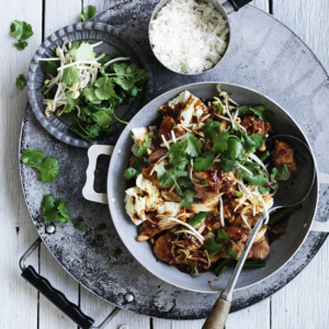 Neil Perry's Good Weekend recipe: Stir-fried chicken & Chinese cabbage in chilli bean sauce