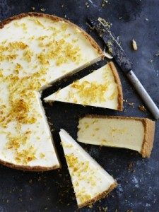 Neil Perry's Good Weekend recipe: Banana cheesecake with toffee.