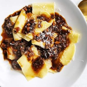 Neil Perry's Good Weekend recipe: Wagyu bolognese with hand-cut pasta.
