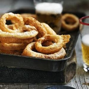 Neil Perry's Good Weekend recipe: Fried onion rings.