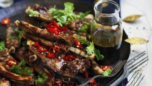 Neil Perry's Good Weekend recipe: Yunnan barbecue spare ribs with black vinegar sauce.