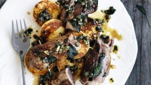 Neil Perry's Good Weekend recipe: Veal saltimbocca with roman-style gnocchi.