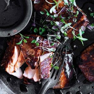 Neil Perry's Good Weekend recipe: Teriyaki salmon.