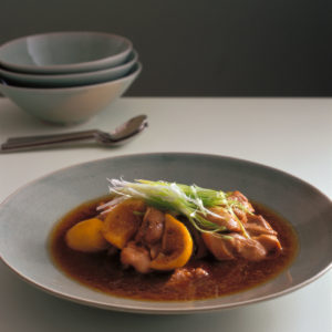 Neil Perry's Balance and Harmony recipe: Steamed lemon chicken.