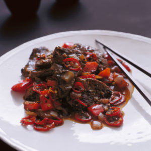 Neil Perry's Balance and Harmony recipe: Black pepper beef.