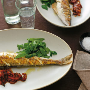 Neil Perry's Good Food recipe: Whiting, Sicilian-style.