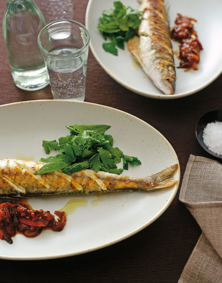 Whiting, Sicilian-style