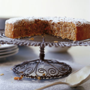 Neil Perry's Good Food recipe: Carrot & almond cake.