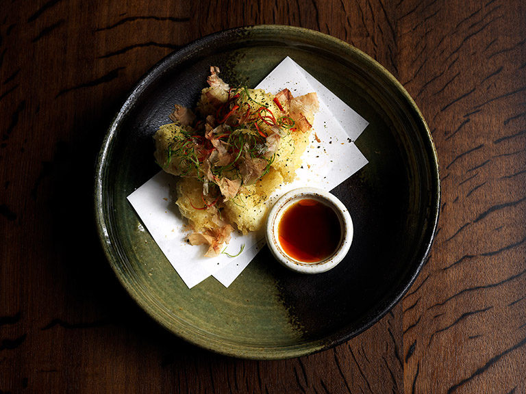 Tempura Snapper with Spicy Ponzu