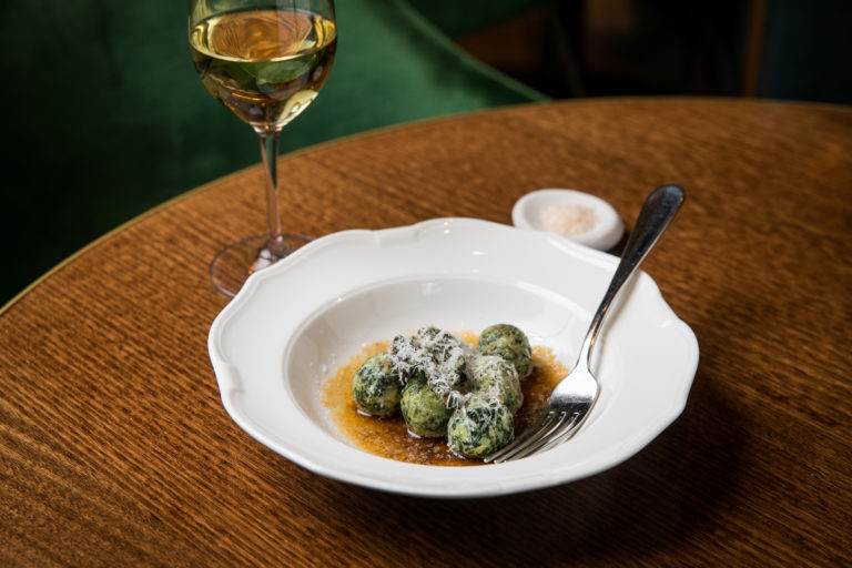 Ricotta and silverbeet malfatti with sage burnt butter