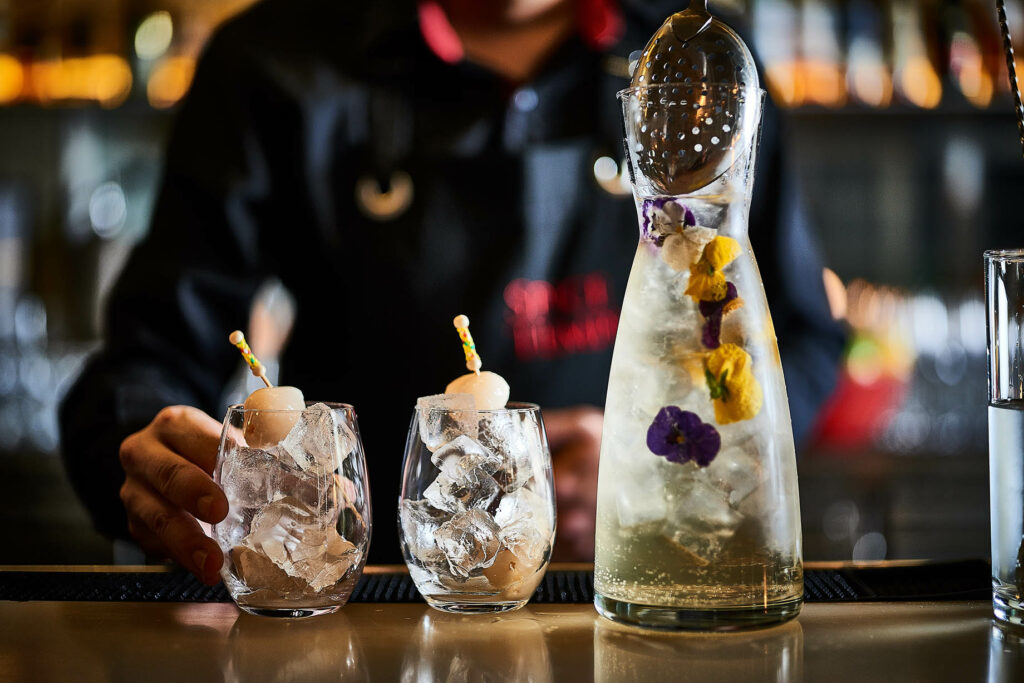Spice Temple's Chinese New Year pig cocktail